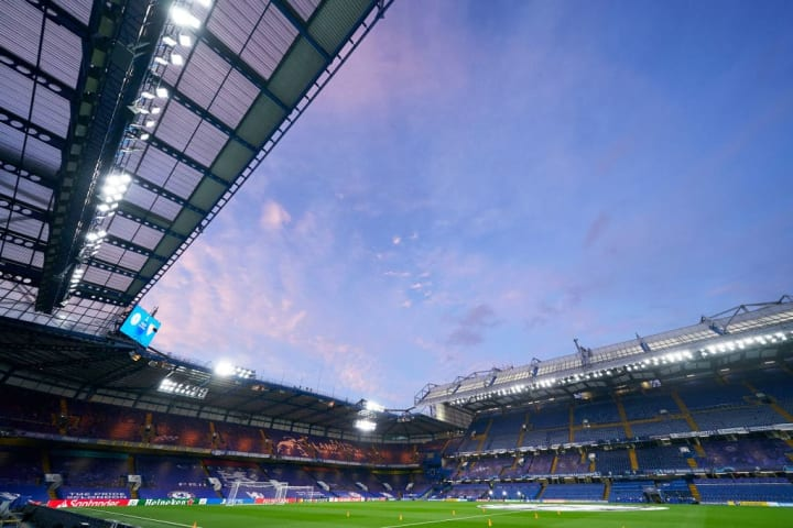 The match will be played at Stamford Bridge