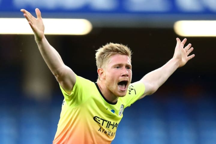 In a disappointing season for Man City, Kevin De Bruyne has been a shining light.