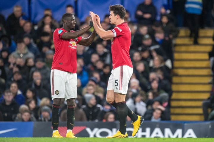 Harry Maguire, Eric Bailly