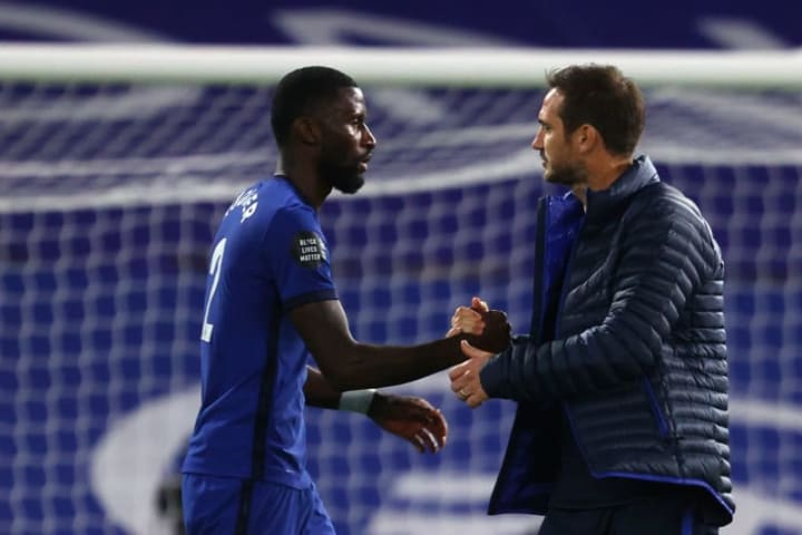 Rudiger is believed to have suffered a poor relationship with Lampard