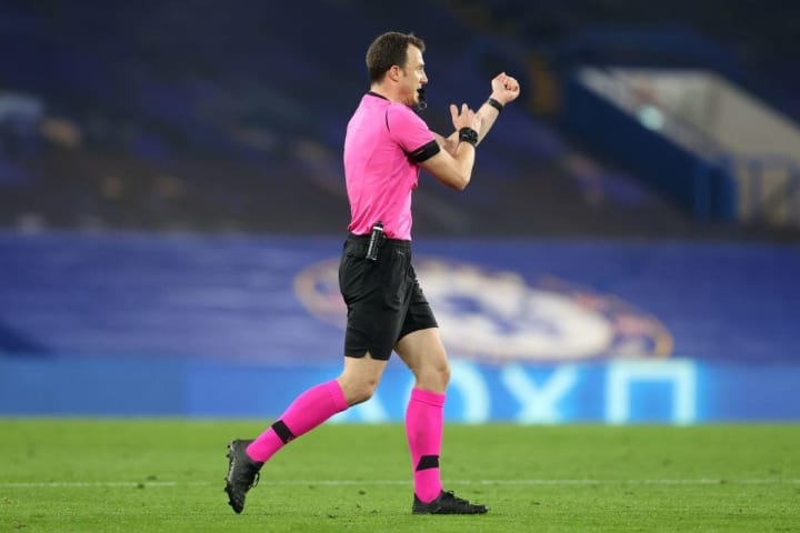 Rennes were on the receiving end of a harsh handball call on Wednesday evening