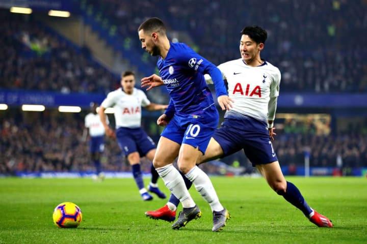Hazard vs Son in the Premier League