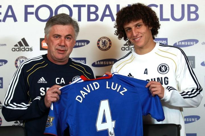David Luiz, Carlo Ancelotti