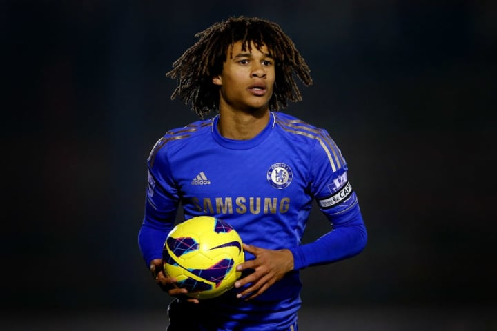 Ake featured sporadically for Chelsea in his youth