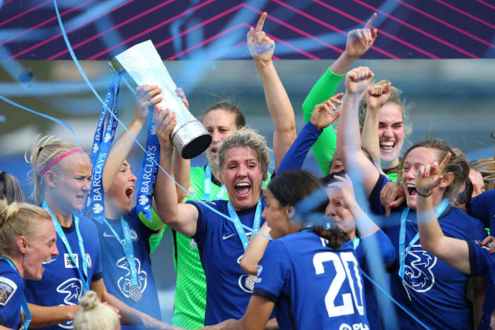 Chelsea are WSL champions for the fourth time in six seasons