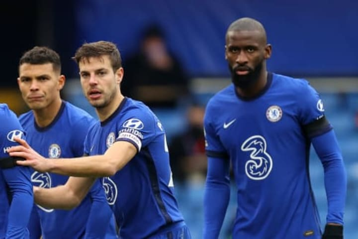 Chelsea's success of late has ben built on their solid backline