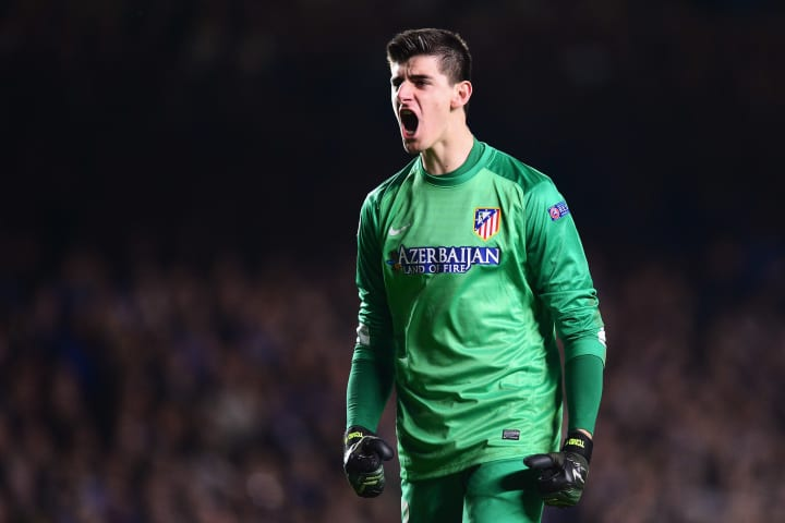 Before joining Real, Courtois spent three years on loan at neighbours and rivals Atlético