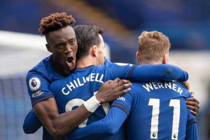 Chelsea were victorious heading into the international break