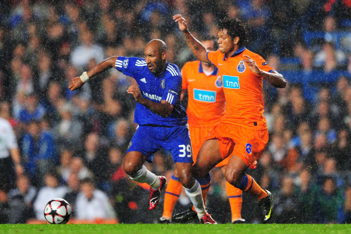 Nicolas Anelka scored the only goal of the game in Chelsea's 1-0 win in 2009