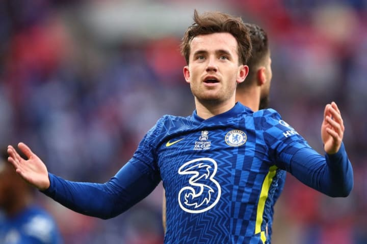 Ben Chilwell joined Chelsea from Leicester in 2020