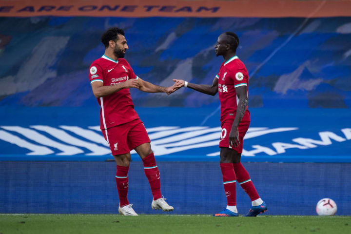 Mane and Salah have lit up the Premier League in red