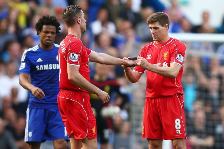 Steven Gerrard, Jordan Henderson