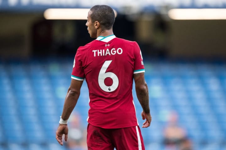 Early Signs Were Very Good On Thiago Alcantara S Liverpool Debut
