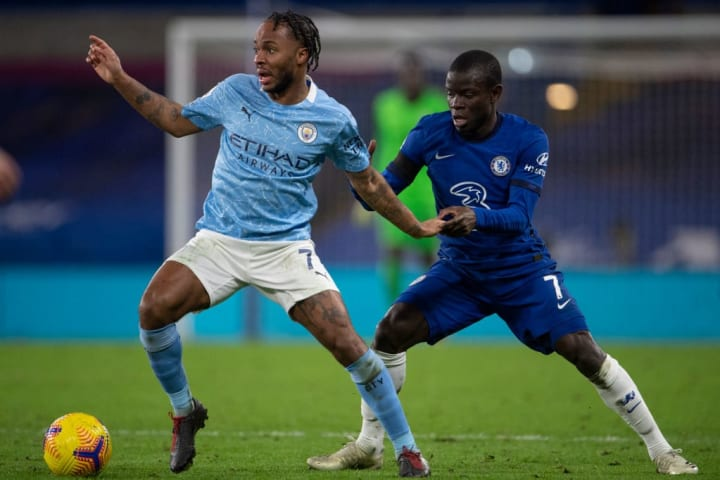 Kante's last start in the league came against City under Frank Lampard