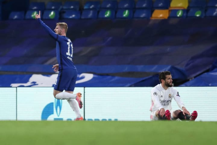 Timo Werner opens the scoring for Chelsea