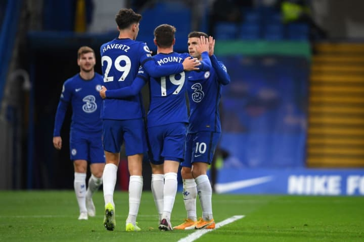 Chelsea have been dealt a double blow as Christian Pulisic and Kai Havertz will be unavailable for selection at the weekend