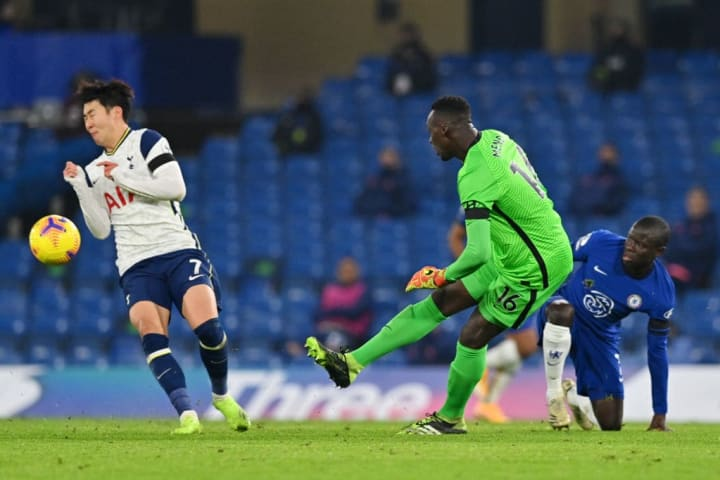 Mendy has been a cool head between the sticks