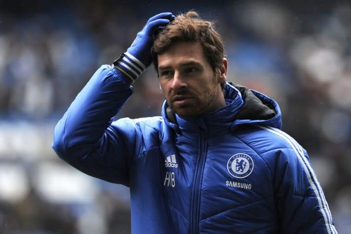 Chelsea's Portuguese manager Andre Villa