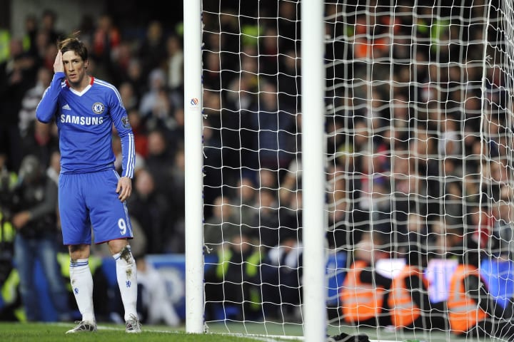 A disaster debut for Fernando Torres at Stamford Bridge