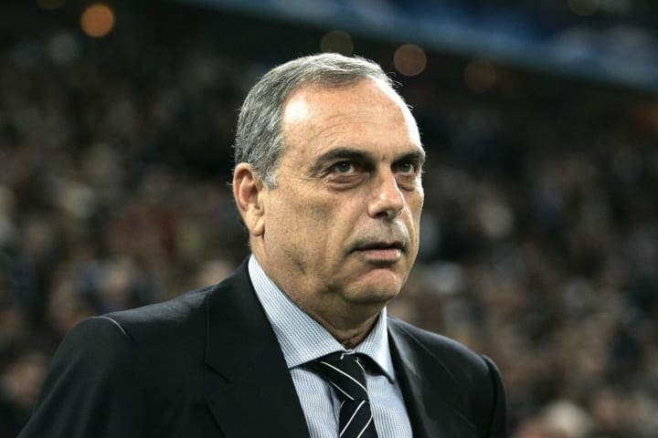 Chelsea's coach Avram Grant is pictured