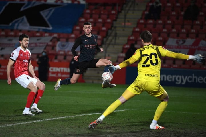 Foden got City back on level terms
