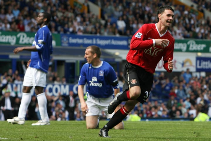 Chris Eagles scored his only Man Utd goal in this game