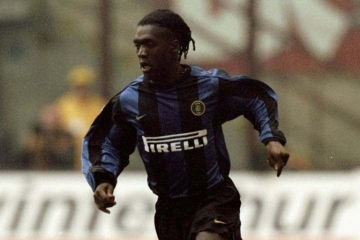 Clarence Seedorf of Inter Milan
