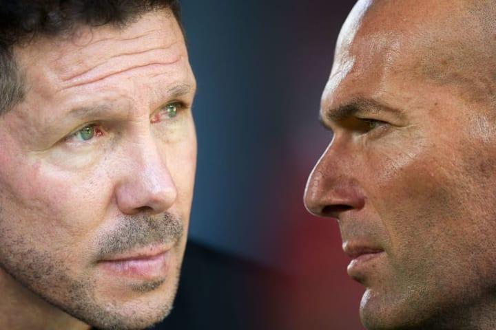 Diego Simeone, Zinedine Zidane
