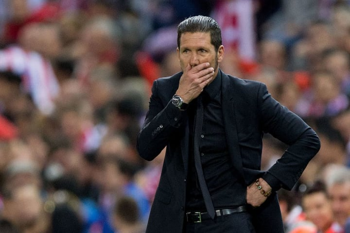 Simeone has only won nine of his 33 Madrid derbies across all competitions, but oversaw a game to remember in February 2015