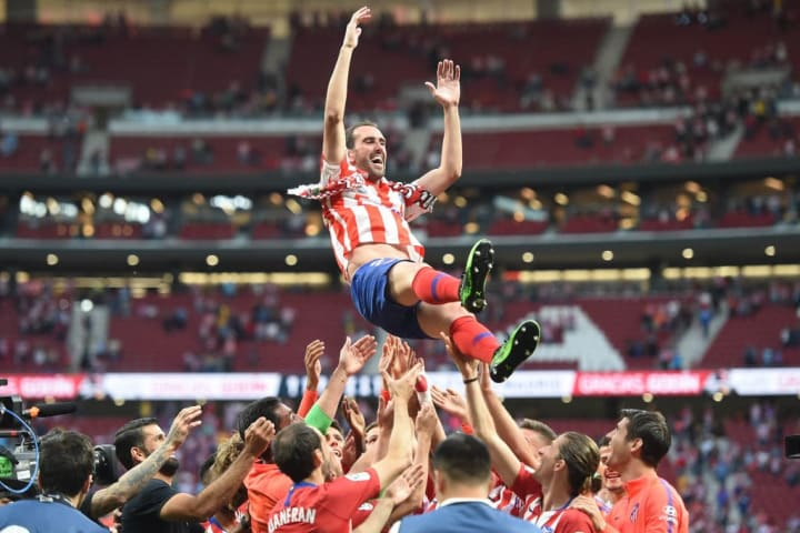 Diego Godin of Atletico Madrid