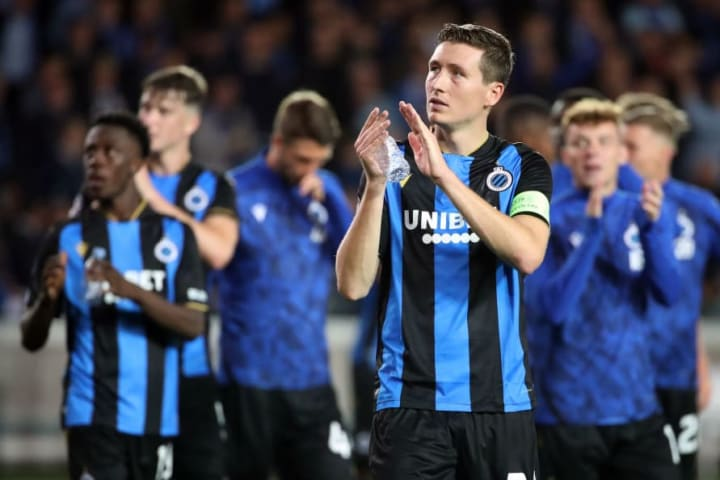 Club Brugge drew with PSG last time out