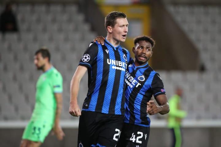 Club Brugge KV v SS Lazio: Group F - UEFA Champions League