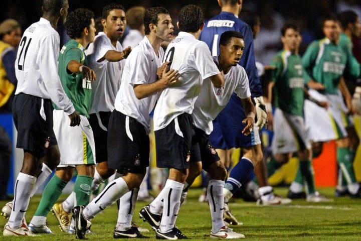 Corinthians Argentine Javier Mascherano