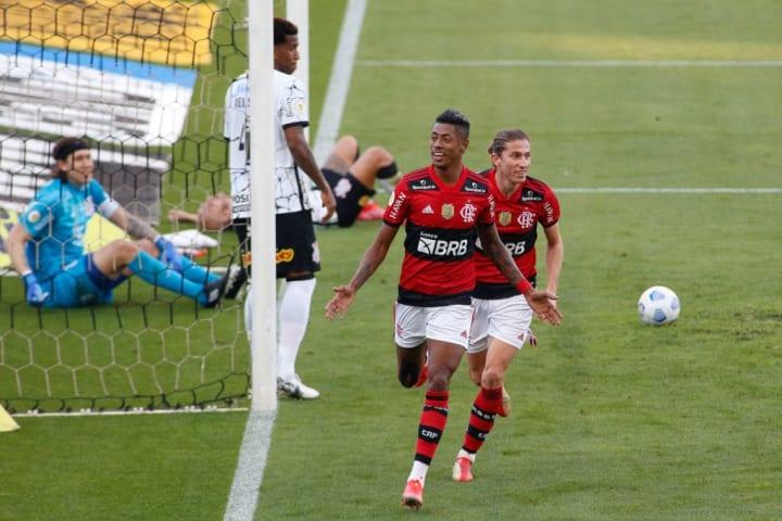 Bruno Henrique Flamengo Corinthians