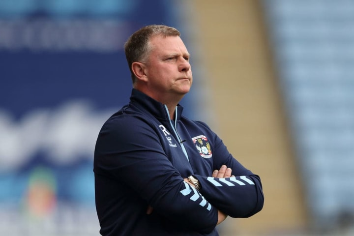 Mark Robins has remained in charge of Coventry this summer
