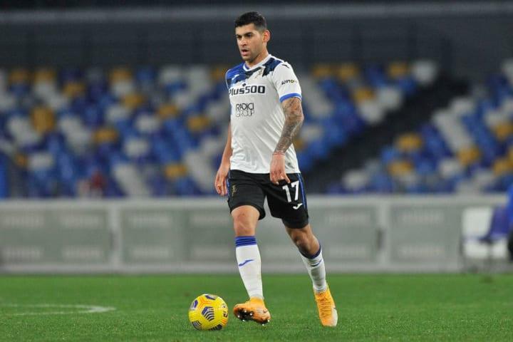 Cristian Romero player of Atalanta, during the semi-final...