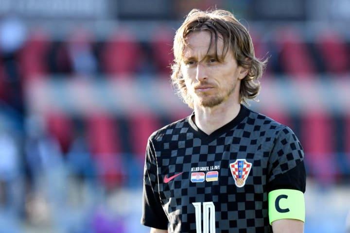 Luka Modric Croácia Eurocopa Título
