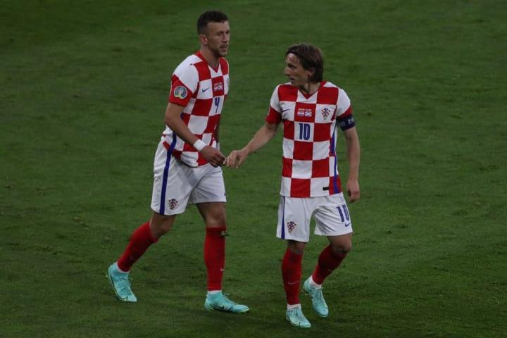 Luka Modric, Ivan Perisic