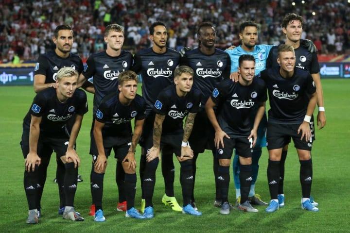 Crvena Zvezda v FC Copenhagen - UEFA Champions League Third Qualifying Round: First Leg