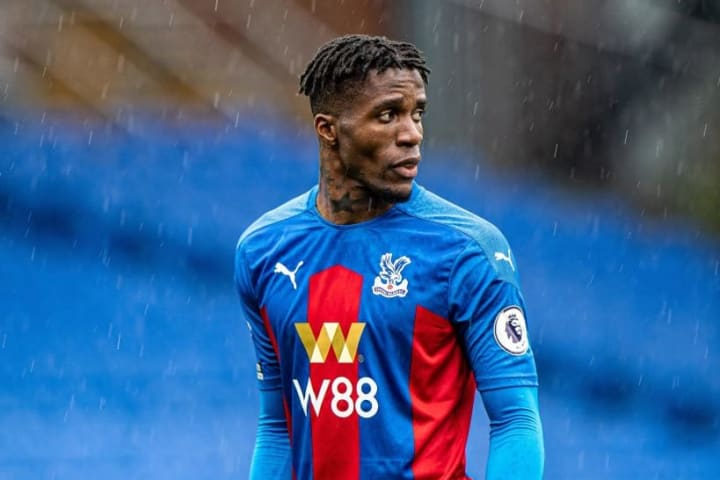 Wilfried Zaha hit double figures for just the second time in his career