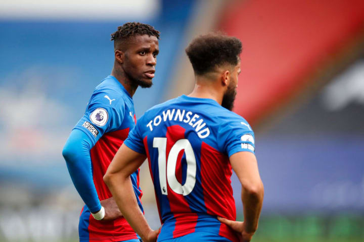 Wilfried Zaha, Andros Townsend