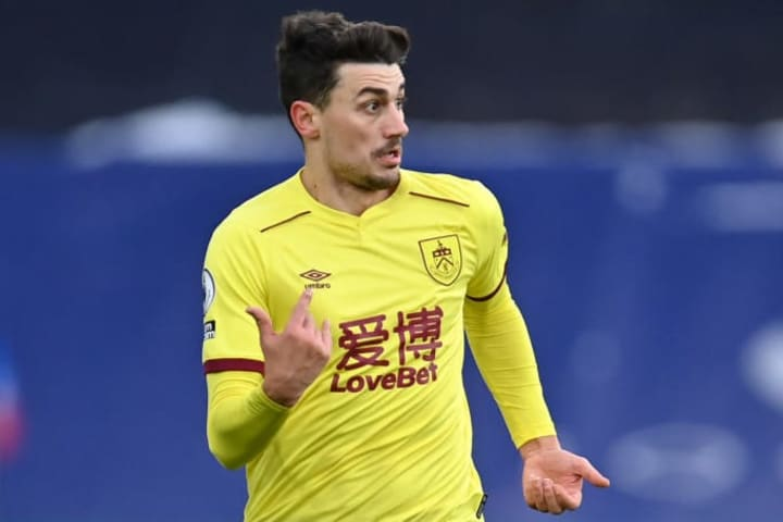 Matt Lowton produced a stunning volley to secure the points for Burnley at Palace