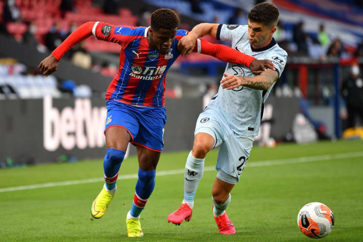 Wilfried Zaha, Christian Pulisic