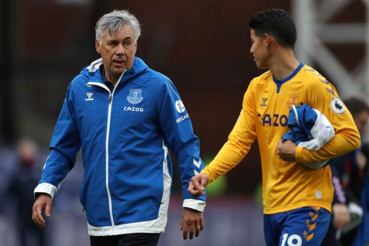 Carlo Ancelotti, James Rodriguez