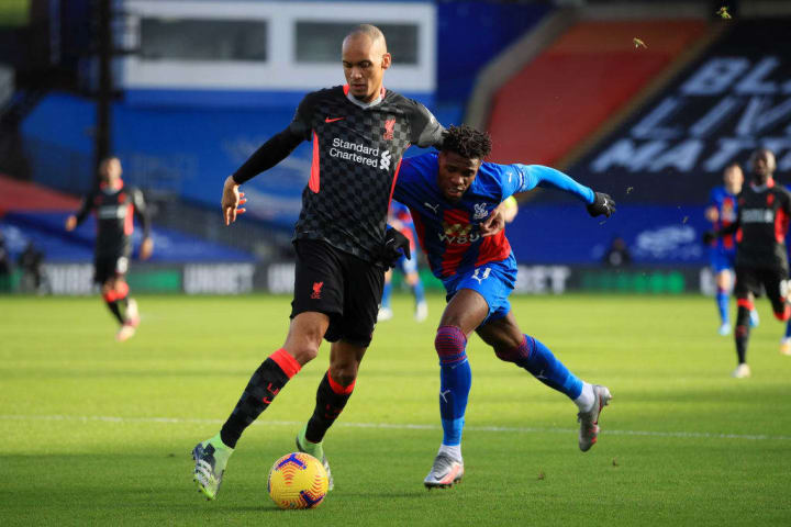 Zaha started up top for Palace