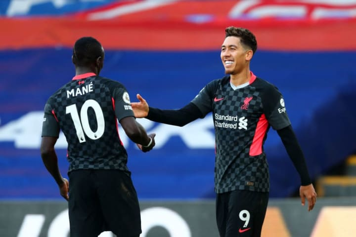 Mane and Firmino were both on the score sheet