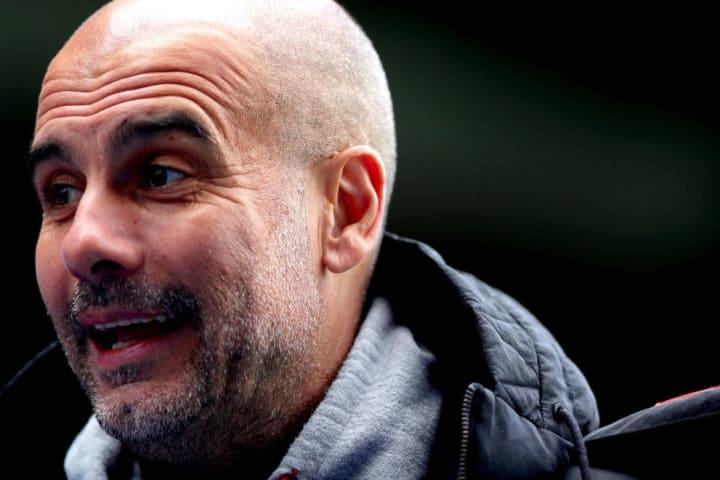 Pep Guardiola Premier League Manchester City United Título