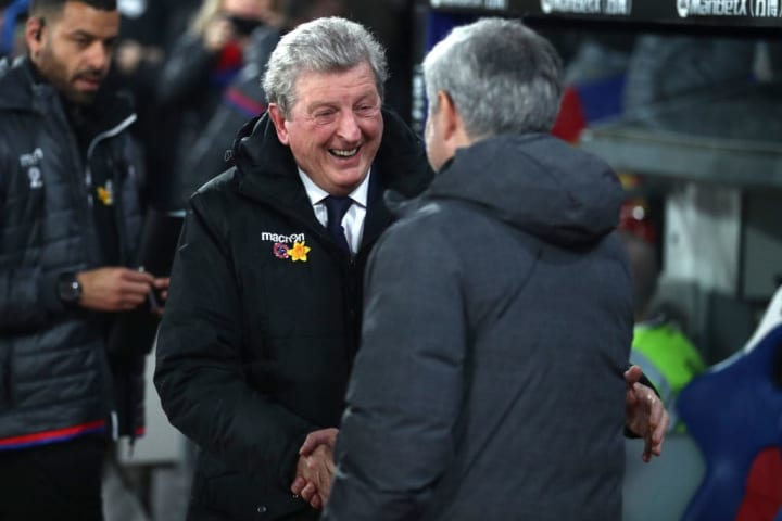 Jose Mourinho and Roy Hodgson