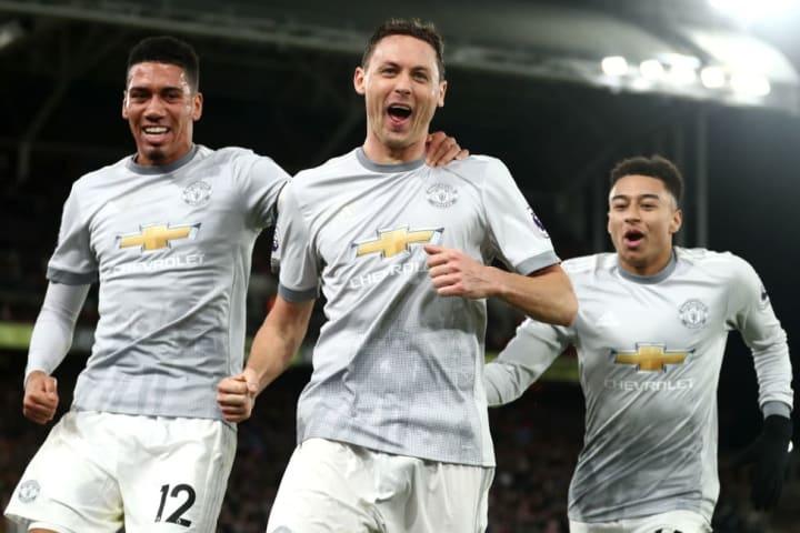 Nemanja Matic scored Man Utd's spectacular winner at Selhurst Park