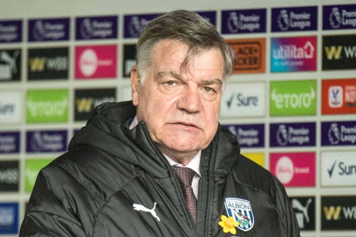 Sam Allardyce's West Brom side look dead and buried in the race for survival